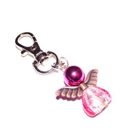 guardian angel keychain keyring charm