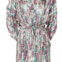 M Missoni Printed silk dress - 65% Off Now at THE OUTNET