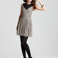 BCBGeneration Pleated Polka Dot Dress - Dresses - Sale - Women's -  Bloomingdale's