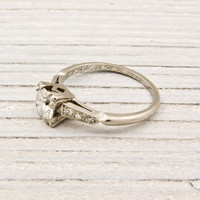 .55 Carat Diamond Solitaire Antique Engagement Ring | Shop | Erstwhile Jewelry Co.