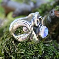Oceana the WaterGoddess handmade Ring in by MelissaCaronJeweller