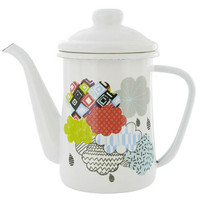 600ml clouds enamel tea pot at Paperchase