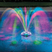 Amazon.com: Musical Underwater Light Show & Fountain - Improvements: Patio, Lawn & Garden