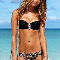 Jeweled Push-Up Bandeau Top - Beach Sexy - Victoria&#x27;s Secret