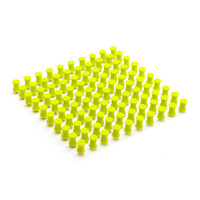 Lime Green Push Pins