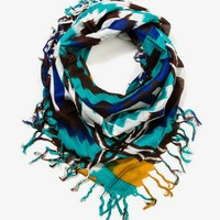 Metallic Textured Scarf | FOREVER 21 - 1030186326