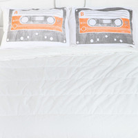 Urban Outfitters - Cassette Pillowcase - Set Of 2