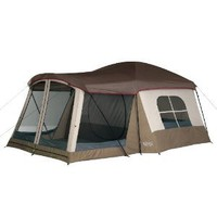 Amazon.com: Wenzel Klondike 16 X 11-Feet Eight-Person Family Cabin Dome Tent (Light Grey/Taupe/Red): Sports & Outdoors