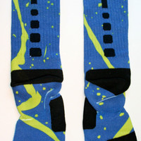 freshswagg — California Earthquake Elite Crew Socks