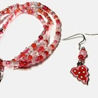Hearts and Candy Jewelry Set