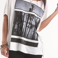 Lira Modern Forest Tee at PacSun.com