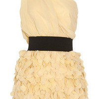 Foley + Corinna Ruffled chiffon dress - 55% Off Now at THE OUTNET