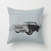 Supernatural: Impala (#2) Throw Pillow by Fictional Chick | Society6