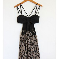 Bustier Cut Out Dress
