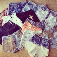 Customize Your Own Shorts hipster tumblr by OpenYourEyesClothing