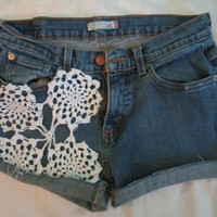 Lacey Vintage Levi High Waisted Jean Shorts