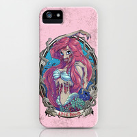 Zombie Little Mermaid iPhone Case by Liquidsugar | Society6