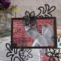 Just Be- Another Framed Assemblage By AlteredHead On Etsy