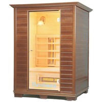3 Person Natural Wood Home Saunas at Brookstone.