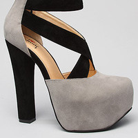 *Sole Boutique The Your It Shoe in Grey and Black : Karmaloop.com - Global Concrete Culture