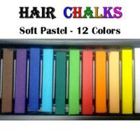 Amazon.com: HAIR CHALKS*SQUARE SOFT PASTELS*TEMPORARY HAIR COLOR: Beauty