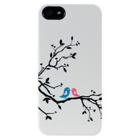 Target : Uncommon Love Birds Deflector Cell Phone Case for iPhone® 5 - White/Black (C0070-R) : Image Zoom