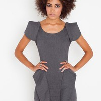 Victoria Peplum Dress in Clothes Dresses at Nasty Gal