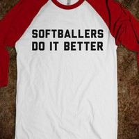 Softballers Do it Better