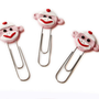 Sock Monkey Face PaperClip Bookmarks 