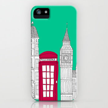 Capital Icons iPhone Case by BLUEBUTTON STUDIO | Society6