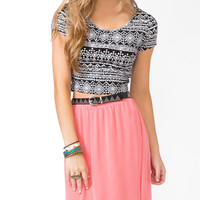 Cropped Geo Top