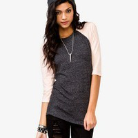 Burnout Baseball Tee