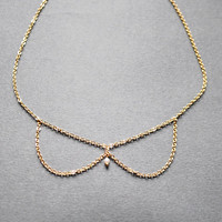 $31.53 The collar necklace  a delicate necklace in a by missbabacilu
