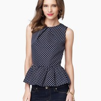 Flirty Pin Dot Top