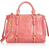 Miu Miu | Leather tote  | NET-A-PORTER.COM