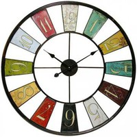 Kaleidoscope Wall Clock - Clocks -  Home Accents -  Home Decor | HomeDecorators.com