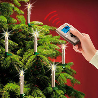 Wireless Christmas Tree Candles - Wireless Christmas Tree Candles ? in a limited edition with sparkling crystals. - Pro-Idee Concept Store - new ideas from around the world