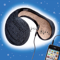 Music Ear Warmers - So warm and yet so cool: Ear warmers and headphone in one. - Pro-Idee Concept Store - new ideas from around the world