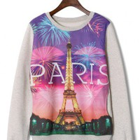Eiffel Tower Fireworks Sweater - New Arrivals - Retro, Indie and Unique Fashion