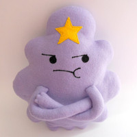 LSP Plush - The soft toy of Lumpy Space Princess Adventure Time