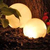 DIY / DIY Outdoor Lighting for only three bucks! This is genius!!