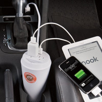 PowerCup DC to AC Power Inverter at Brookstone—Buy Now!