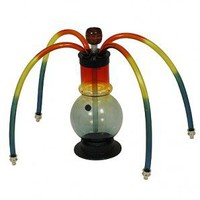 Acrylic 4-Hoser Sphere Small - Bongs and Waterpipes - Smoking Pipes - Grasscity.com