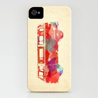 VW Van Watercolor iPhone Case by StaciaE | Society6