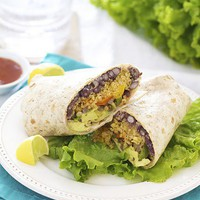 something delicious / Southwestern Quinoa Wrap {Vegetarian}quick..easy..good..and did I say good for you