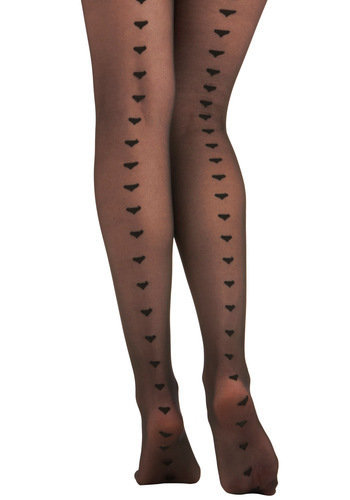 It Seams I Love You Tights | Mod Retro Vintage Tights | ModCloth.com