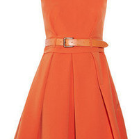 Preen Grace pleated stretch-crepe dress - 65% Off Now at THE OUTNET