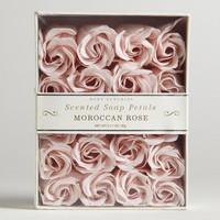 Moroccan Rose Soap Petals, 20 Pieces - World Market