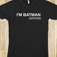 I&#x27;M BATMAN - glamfoxx.com