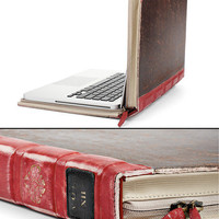 Twelve South BookBook, 13-Inch Distressed Brown, Hardback Leather Case for 13-Inch MacBook Pro